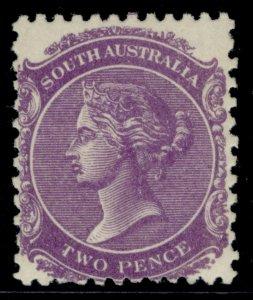 AUSTRALIA - South Australia EDVII SG295, 2d bright violet, LH MINT. Cat £27.
