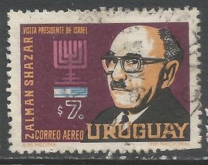 URUGUAY C287 VFU JUDAICA 87D-5