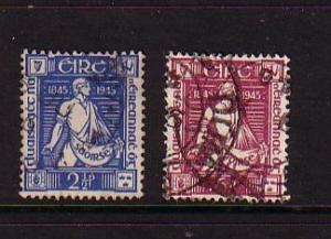 Ireland Sc 131-2 Young Irelanders stamps used