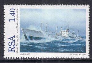 South Africa 950a Ship MNH VF