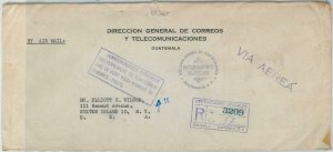 79092 - GUATEMALA -  POSTAL HISTORY - OFFICIAL Registered COVER  to USA  1948
