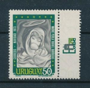 [98540] Uruguay 1973 Christmas Weihnachten Noël Natal Navidad Madonna  MNH