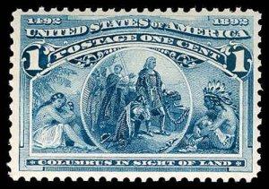 U.S. COLUMBIAN ISSUE 230  Mint (ID # 78381)