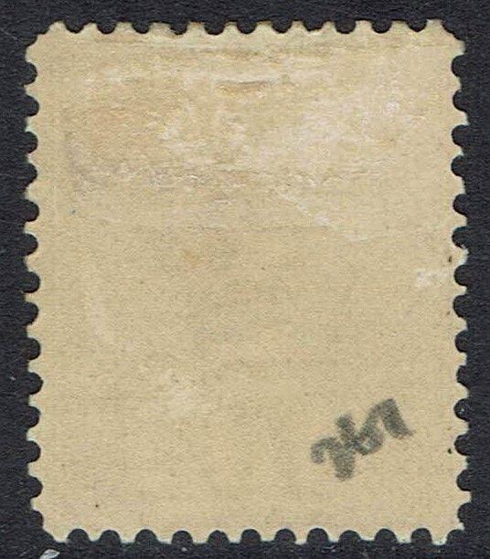 TASMANIA 1906 QV TABLET 10/- WMK CROWN/A PERF 12.5