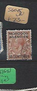 MOROCCO AGENCIES  (P2308B)  KGV   15C    SG 145   VFU