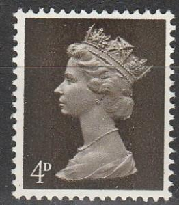 Great Britain #MH6 MNH F-VF (V1624)