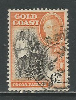 Gold Coast  #137  Used  (1948)  c.v. $0.40