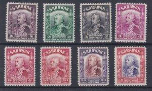 SARAWAK  1934 VARIOUS VALUES TO 50C MH