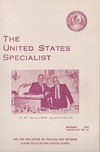The United States Specialist:  Volume 45, No. 12 - December 1974