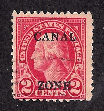 Canal Zone 84 Used... SCV $8.00