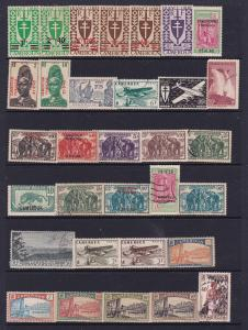Cameroons a mint & odd used lot of earlies