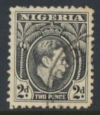 Nigeria  SG 52  SC# 56  Used    1938 Definitive please see scan