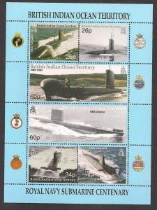 BRITISH INDIAN OCEAN TERRITORY SC# 230 VF MNH 2001