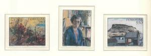 Faroe Islands Sc 127-9 1985 Museum Ptgs stamps NH
