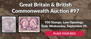 The 97th Great Britain & Commonwealth Auction