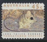 Australia SG 1331  Used perf 11½ Threatened Species -Dunnart