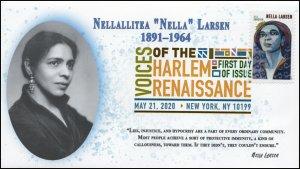 20-094, 2020, Voices of the Harlem Renaissance, DCP, FDC, Nella Larsen