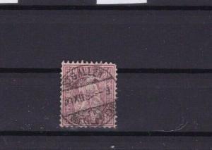 SWITZERLAND 1862 50c PURPLE  STAMP CAT £65+   R 3400