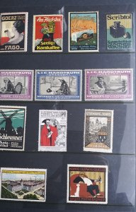 World Exhibition, Convention, Stamp Show, Poster, Label stamp Collection LOT#Q18