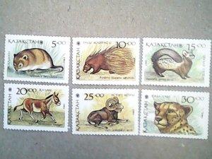 1993  Kazakhstan  #41 - #46  MNH  set of six stamps