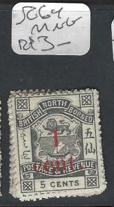 NORTH BORNEO (P2501B)   1C/5C  SG 64    MNG