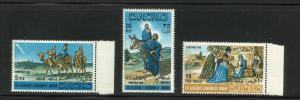 Jordan 1966 Christmas Scott# 533-533B MNH