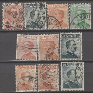 COLLECTION LOT # 2993 ITALY 10 STAMPS 1905+ CLEARANCE CV+$16