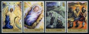 St Helena Christmas Stamps 2020 MNH Nativity of Jesus Angels Magi 4v Set