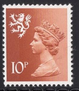 Great Britain Scotland  #SMH13 10 p MNH Q E II   Machin