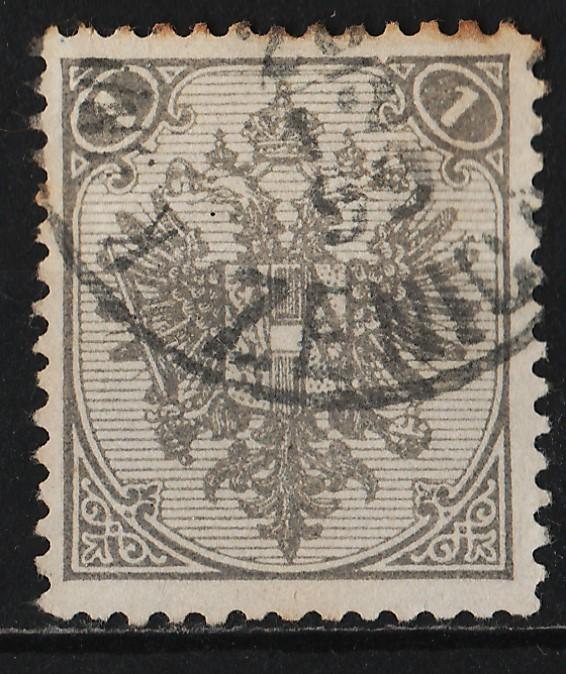 Bosnia and Herzegovina 1879/94 Coat of Arms 1n (1/9) Type 2 USED