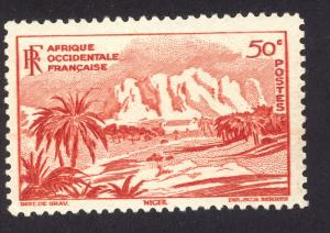 French West Africa 39 MH