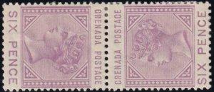 Grenada 1883 SC 24a Var MLH Tete Betche