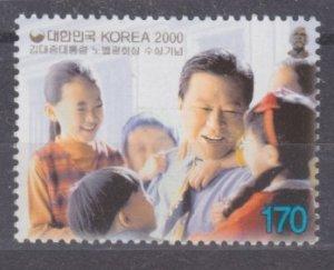 2000 South Korea 2145 Kim Dae- jung