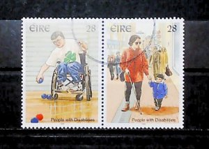 Ireland 1996 People with Disabilities Used Full Set A22P20F9039