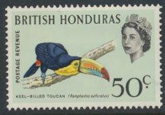 British Honduras SG 245 SC # 175a MLH  Birds Toucan  see scans
