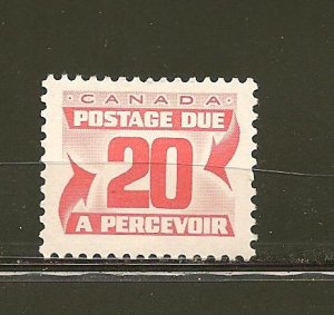 Canada J38 20 Cent Postage Due MNH