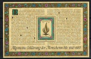 UN Vienna Souvenir Sheet 87