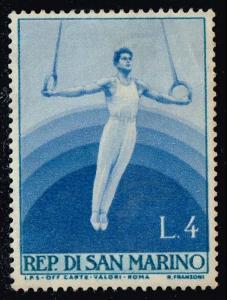San Marino #348 Gymnastics; Unused (0.25)