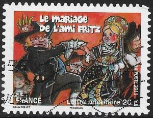 France 4029 Used - Regional Festivals & Traditions - ­Le Mariage de l'Ami