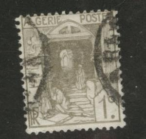ALGERIA Scott 33 used stamp from 1926-1939 set