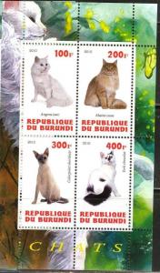 BURUNDI SHEET CATS