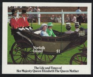 Norfolk Life and Times of Queen Elizabeth the Queen Mother MS SG#MS368 SC#368