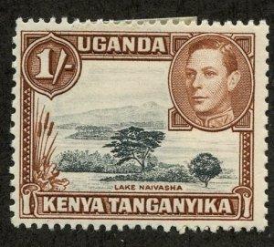 Kenya-Uganda-Tanganiyka, Scott #80, Unused, Hinged