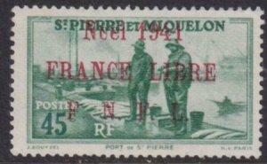 St. Pierre 1941 SC 264 MLH France Libre