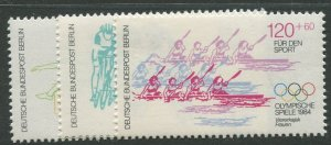 STAMP STATION PERTH Germany #9NB213-215 Olympic Type 1984- Set - MNH