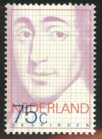 Netherlands Scott 567 MH* 1977 Spinoza stamp