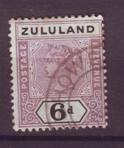 J25473 JLstamps 1894-6 zululand used #19 ovpt