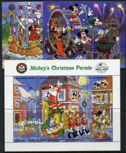 Grenada Grenadines 1021-3 MNH Disney, Christmas, Mickey