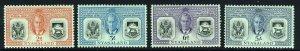 NYASALAND KG VI 1951 Diamond Jubilee of Protectorate Set SG 167 to SG 170 MINT