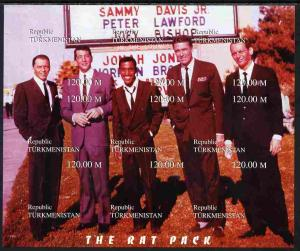 Turkmenistan 1999 The Rat Pack (Sinatra, Davis Jr, Dean M...